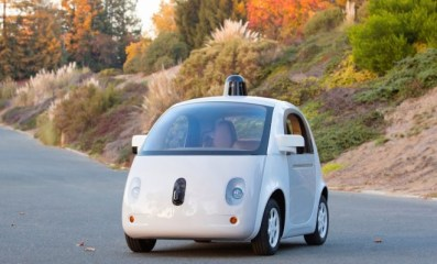 google self-driving prototype car