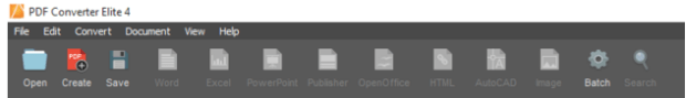 PDF Converter Screenshot 1