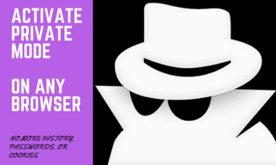 Activate Private Browsing on Any Web Browser