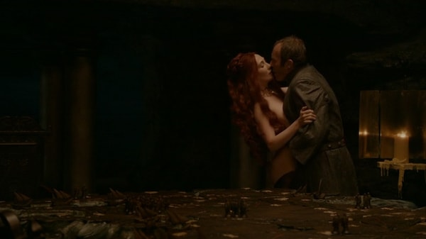 Stannis and Melisandre 'On The Table'