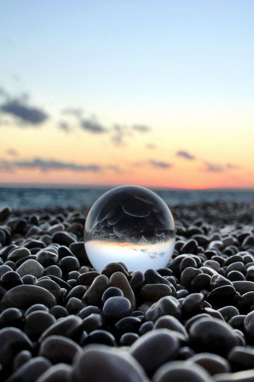 Crystal Ball Photography Ideas landscape skies