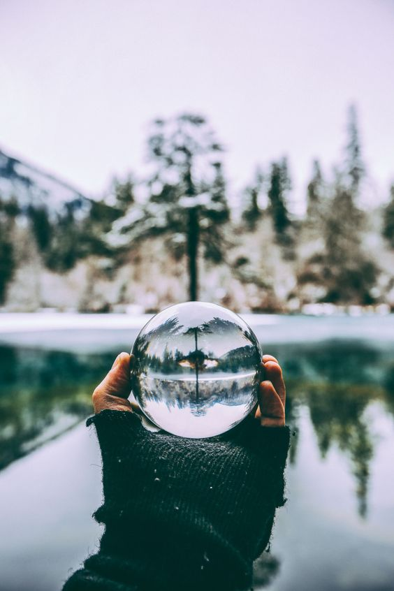 Crystal Ball Photography winter lake
