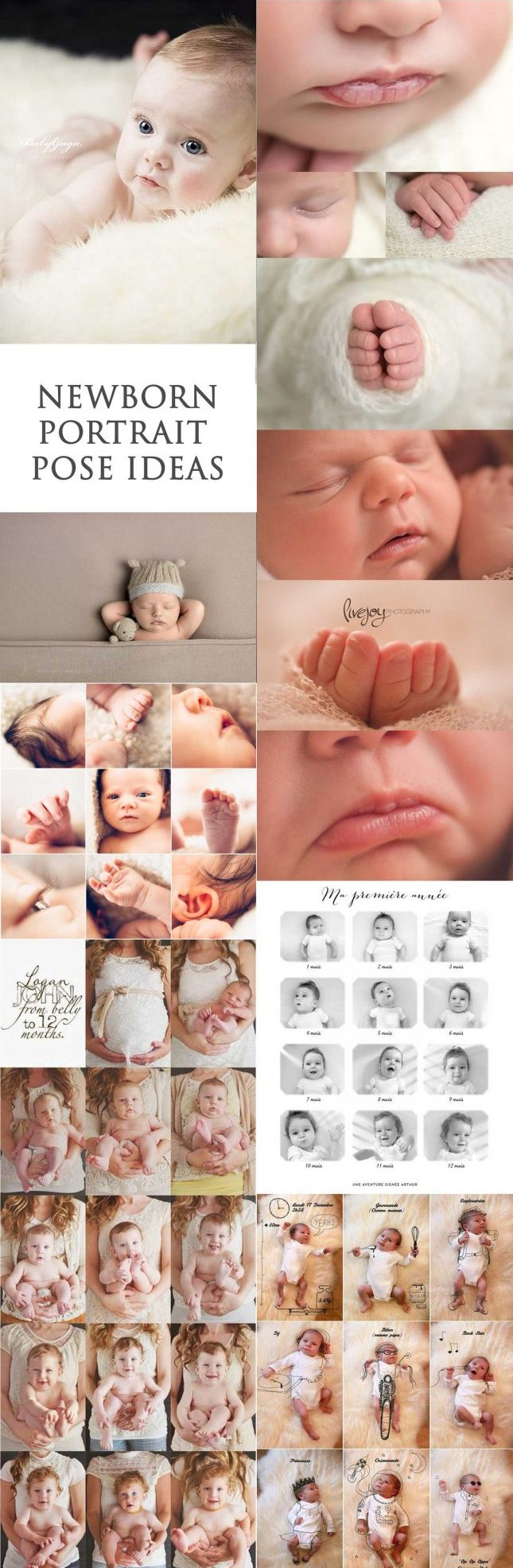 2019 Trend of Newborn Photography Ideas & Tips for Poses
