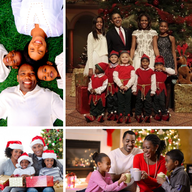 Black Family Christmas Pictures Ideas