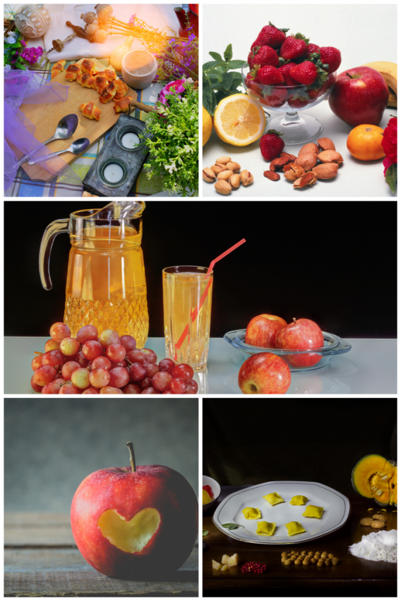 Food Still Life Photography Ideas