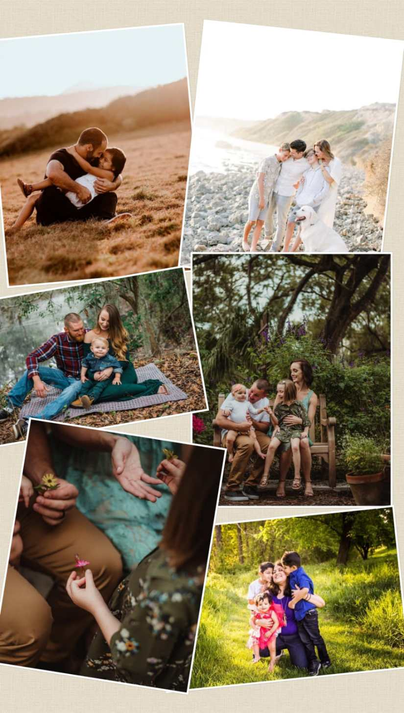 Outdoor Family Photograph Ideas