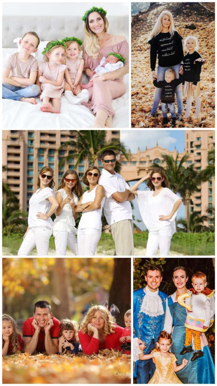 Family Portrait picture Clothing Ideas