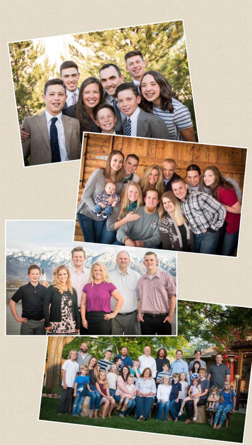Big Family Photo shoot Ideas