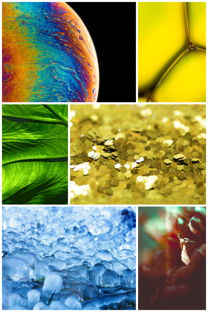 abstract macro photography ideas