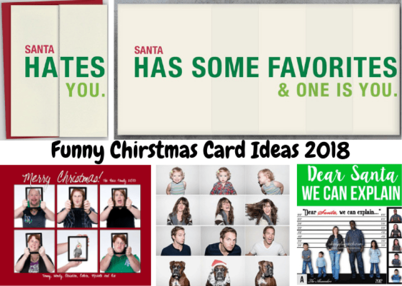 funny christmas card ideas 2018