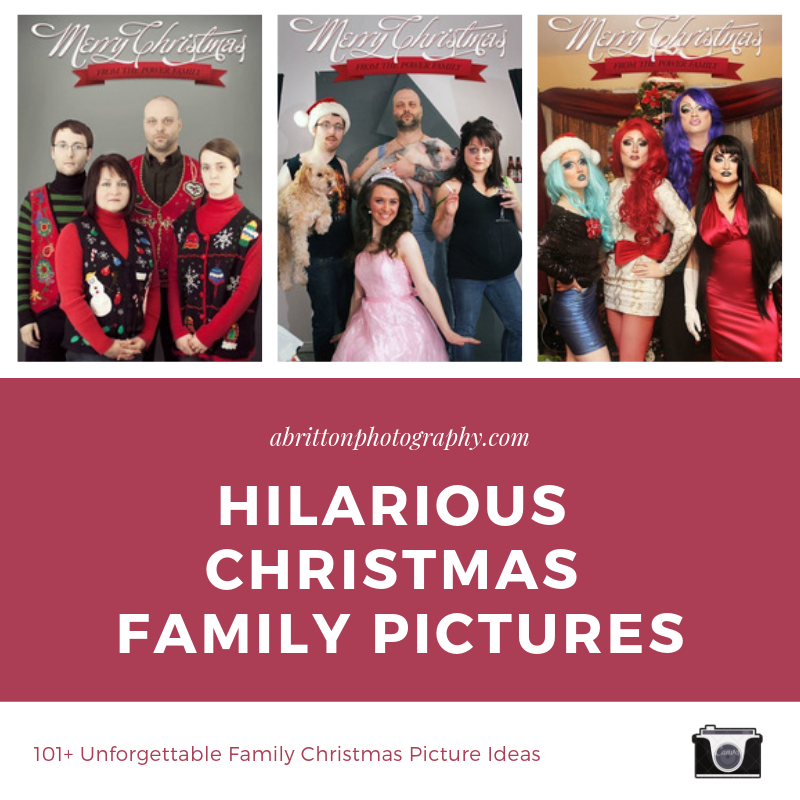 Hilarious Christmas Family Pictures