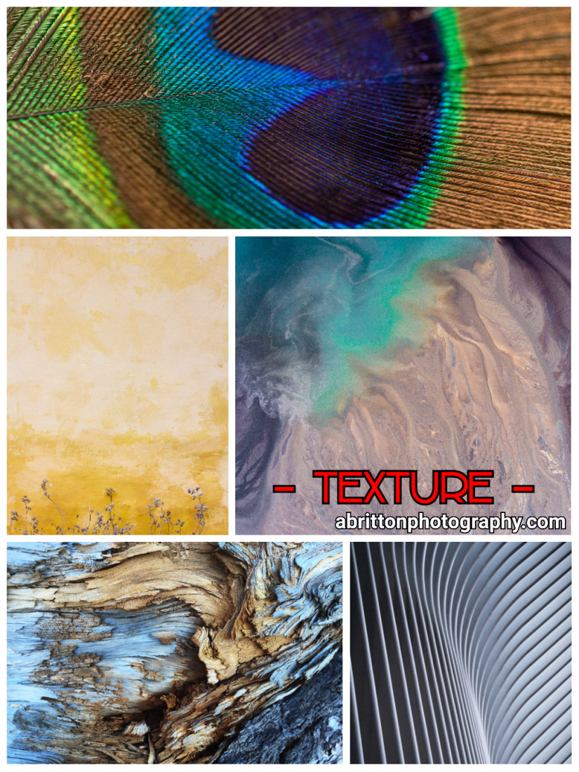 Texture landscape photography ideas