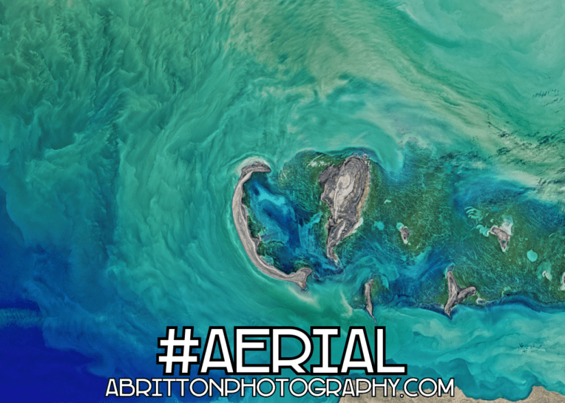 aerial nature landscape photography ideas