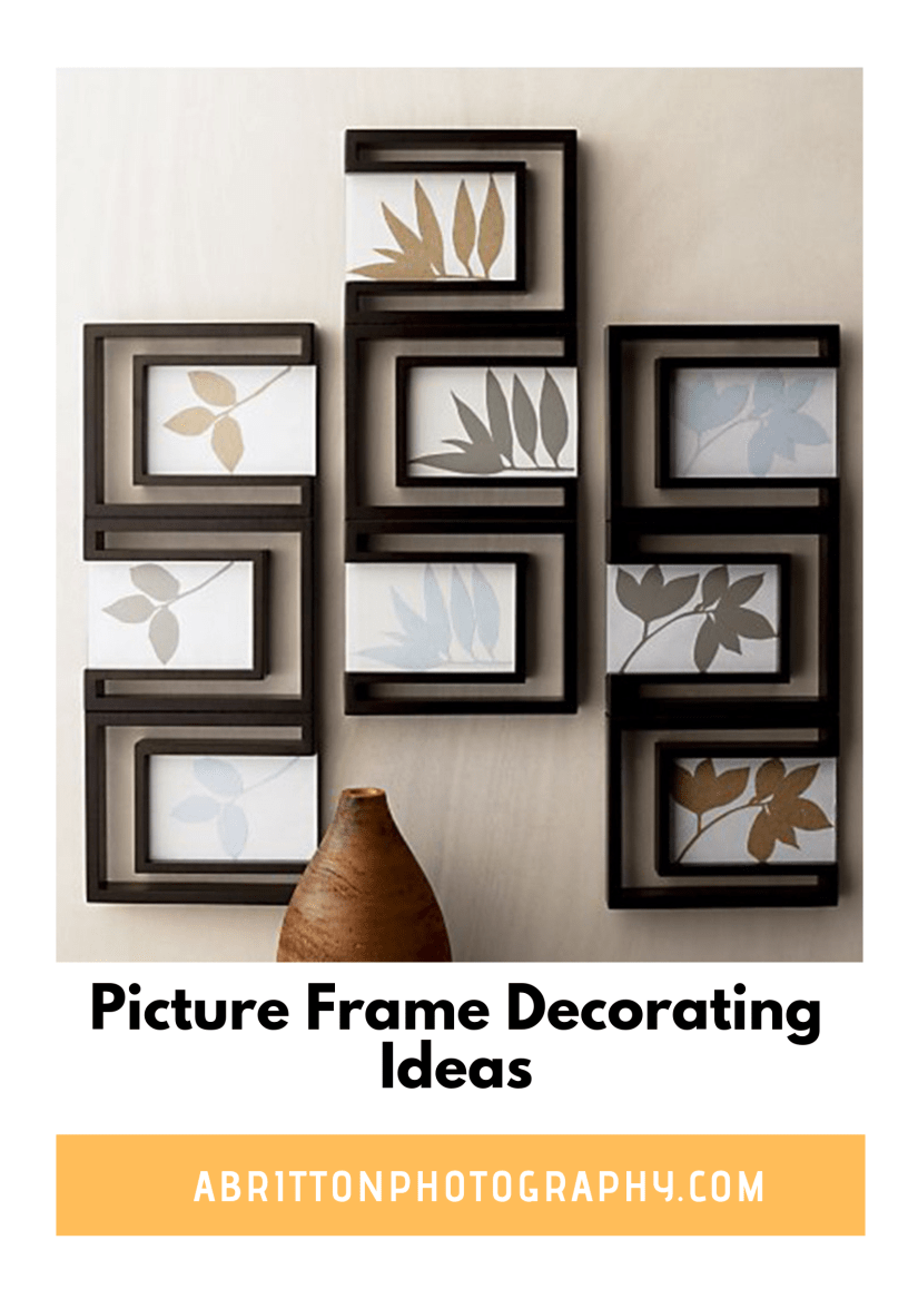 photo frame ideas for walls