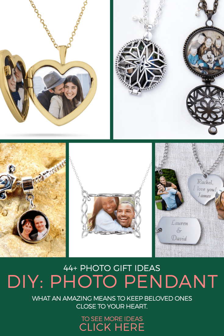 photo pendant gift ideas