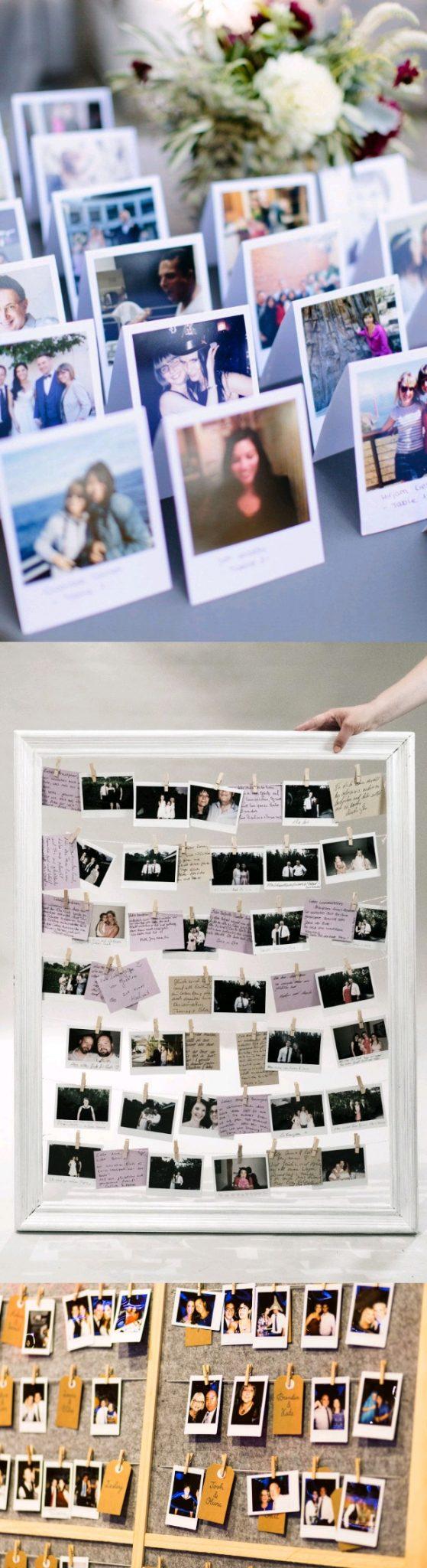polaroid collage ideas
