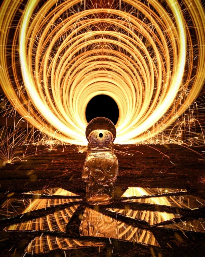 How to Make Tunnel Steel Wool Photography Ideas