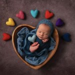 newborn photography props basket and bowl ideas 2