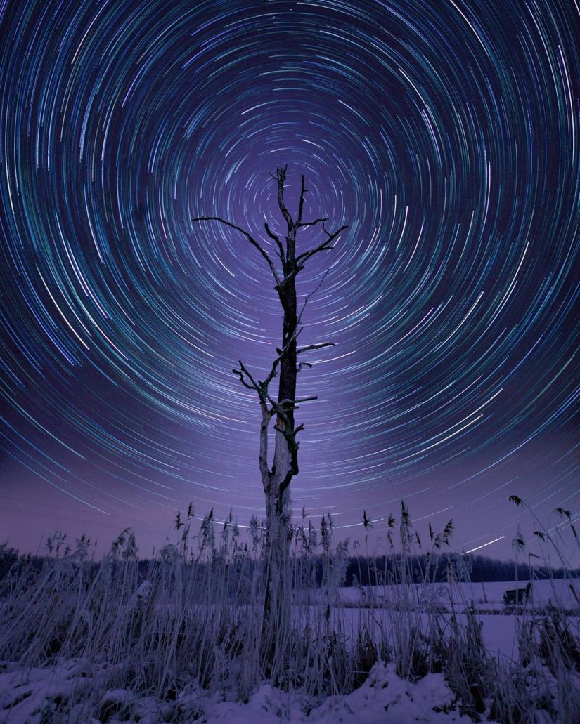 star trails photography long exposure ideas