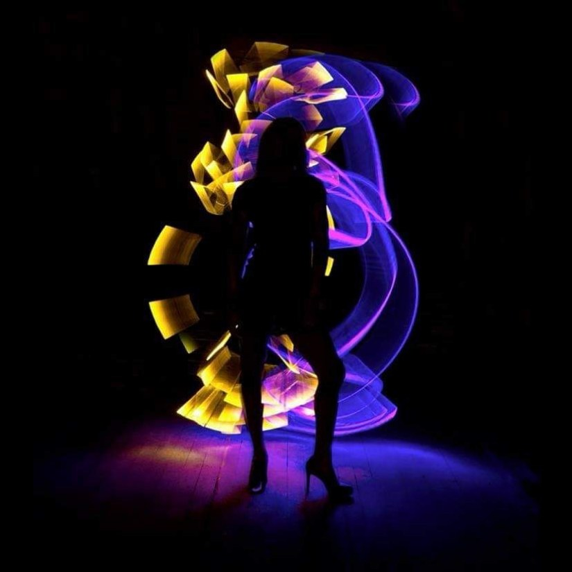 the best awesome light painting photography ideas