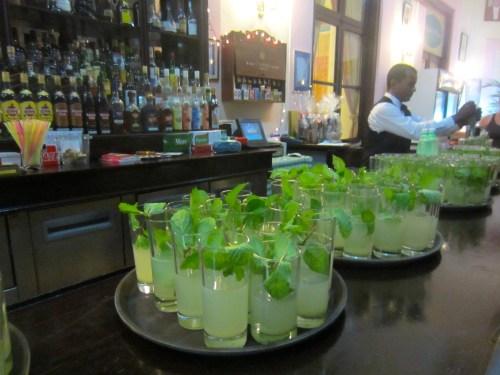The best mojitos (Hotel Nacional)