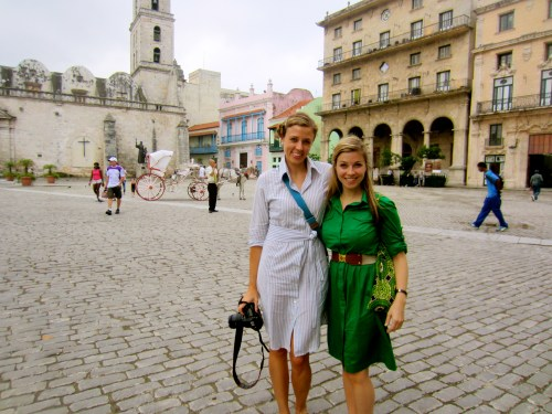 Exploring old town Havana