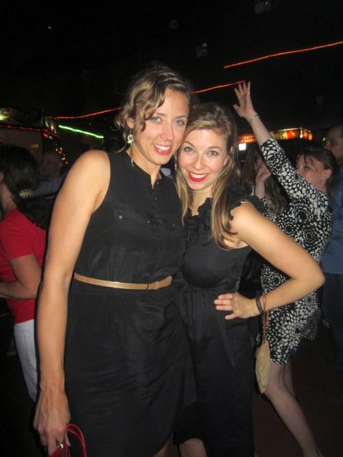 Taylor & me enjoying the nightlife at Casa de la Musica