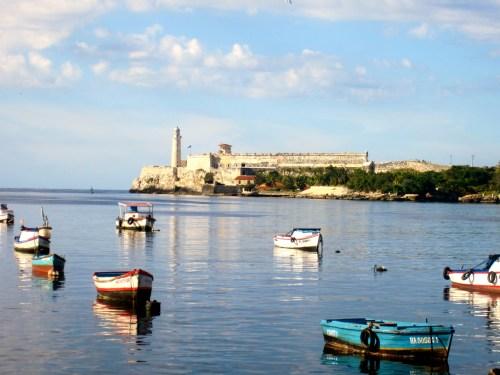 On the water in Havana
