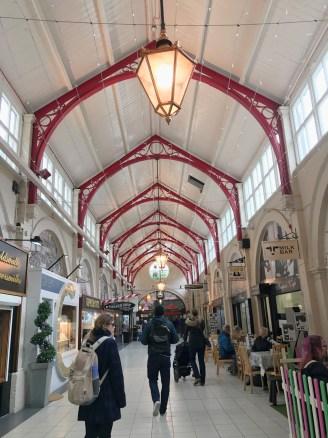 Inside Victoria Market