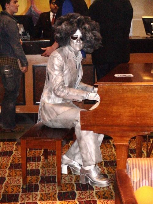 in der Lobby des Crown Plaza Hotels, Ottawa während der OCFF 2009 im Oktober