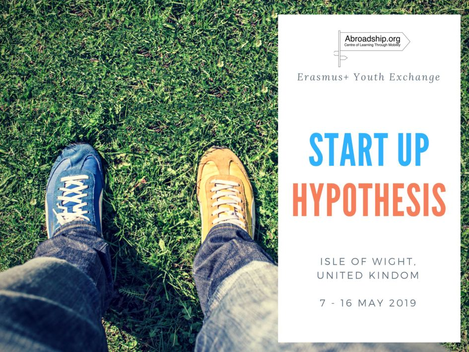 Start Up Hypothesis - youth exchange - erasmus plus - United Kingdom - Isle of Wight - abroadship.org