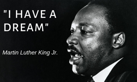 I have a dream Martin Luther Kİng