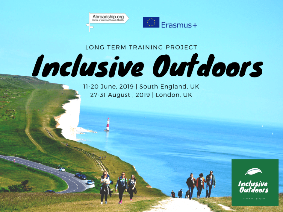 Inclusive Outdoors - Erasmus plus training course - UK - abroadship.org