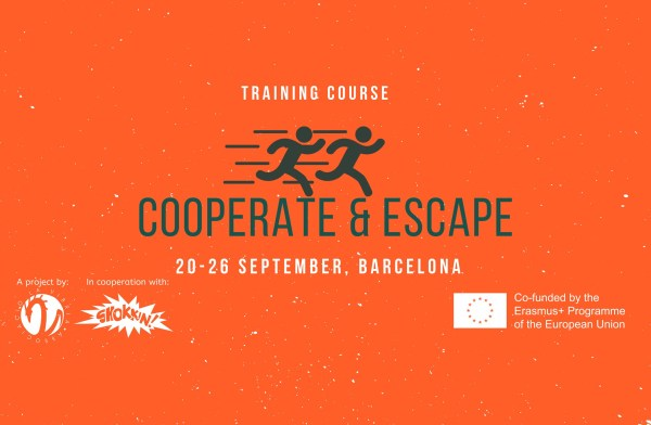 Cooperate and Escape - Erasmus plus training course - Barcelona, Spain - abroadship.org