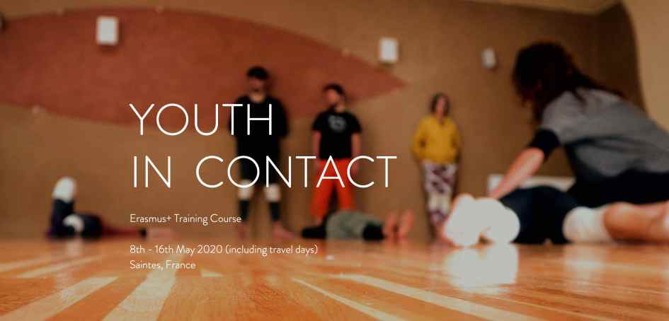 Youth in Contact - contact improvisation - training course - France - Erasmus plus - Abroadship.org