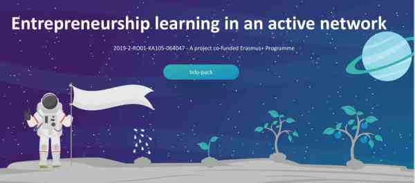 Entrepreneurship learning in an active network - Erasmus plus - training - Romania - Abroadship.org