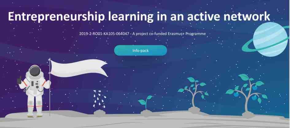 Entrepreneurship learning in an active network - Erasmus plus - training - Romania - Abroadship.org
