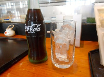 My coke came in an honest-to-goodness glass bottle.