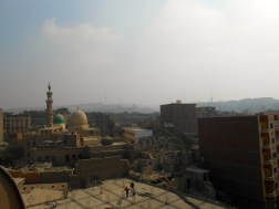 View of Islamic Cairo from a minaret.