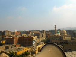 View from the minaret of a 600 year old mosque.