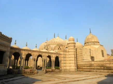 A Muslim mausoleum.