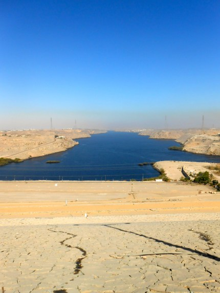 The Nile North of the Aswan High Dam.