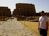 Joe visits Karnak Temple.
