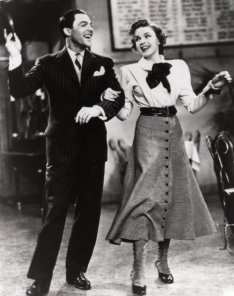 """Gene and Judy Garland in For Me and My Gal (1942). Judy Garland no filme """"Lily, A Teimosa"""" de 1943"""