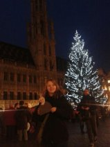 Alex and Agnes at Grand Place