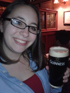 A Pint of Guinness in Ireland