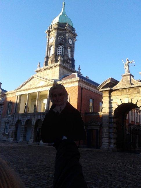 Flat Agnes at the Dublin Castle