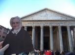 Flat Agnes at the Pantheon