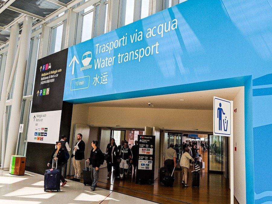 venice airport to venice