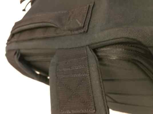 Reinforced stress points with high quality materials make the GORUCK GR3 an impressively durable travel backpack and capable of carrying 400lb+ loads